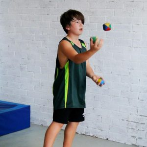 Juggling in the school holidays at Circus Camp