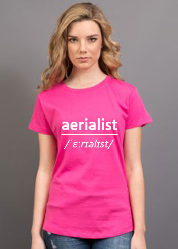 Aerialist Tee – Ladies