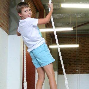 Trapeze in the Circus Camp school holiday program