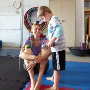 Circus playgroup fun for kids and parents alike
