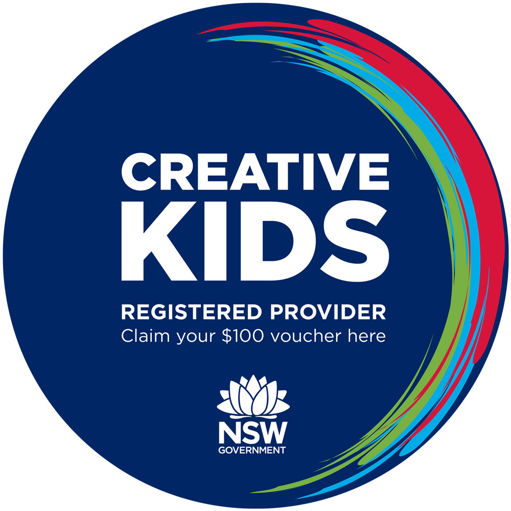 Circus Akimbo is a registered provider of the Creative Kids program