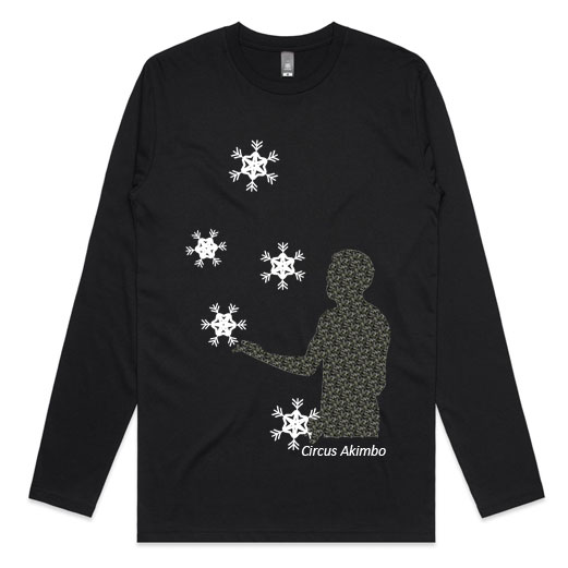 Snowy Juggler Long Sleeves